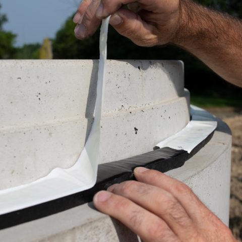 Butyl Sealant - EZ-STIK Premium butyl sealant for concrete