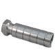 Concrete rail tie insert stainless steel