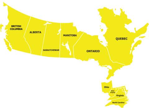 Press-Seal sales rep Canada Eastern U.S.