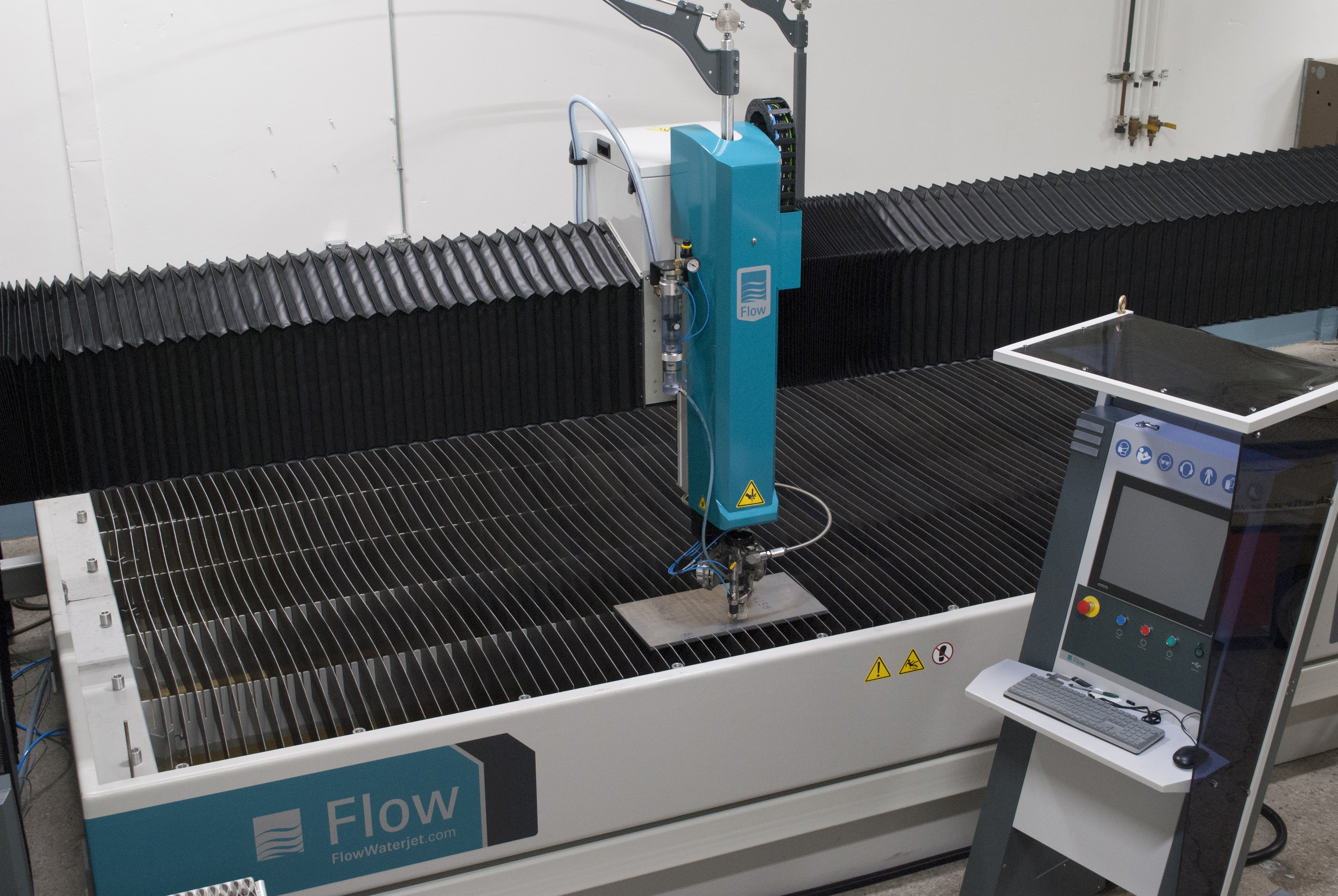 Waterjet Cutting Services Upgraded at Press-Seal - Press-Seal